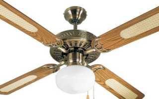 Преимущества потолочного вентилятора со светильником – функциональность