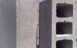 Технология строительства из шлакоблоков