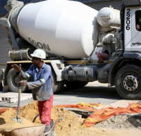Составные части бетонных смесей