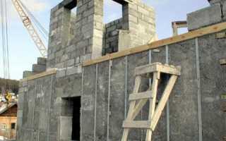 Сами строим дом из пеноблоков