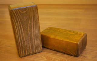 Как изготовить деревянные кирпичи своими руками?
