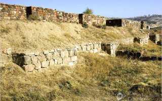 Фундамент для дома из камня