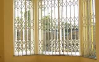 Решетки на окна распашные и раздвижные