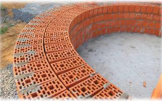 Как производится кладка керамических блоков?