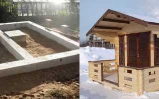 Как сделать фундамент для дачного дома?