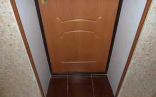 Как заделать проем между двумя дверьми