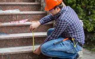 Как можно выполнить расчет лестницы?