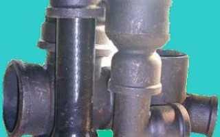 Канализационные трубы из чугуна – традиционно и надежно