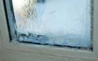 Промерзает подоконник под пластиковым окном