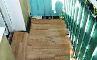 Чем лучше покрыть пол на балконе