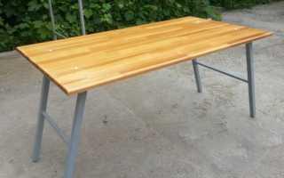 Изготовление складного столика своими руками