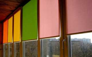 Крепление роллетов на пластиковые окна