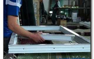 Изготовление пластиковых окон своими руками
