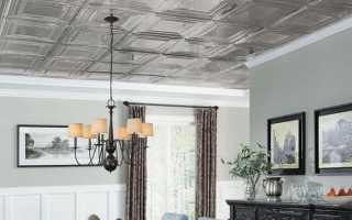Монтаж потолочной ламинированной плитки своими руками – подробная инструкция