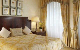 Наиболее подходящие модели и варианты штор для спальни