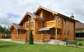 Как и какими материалами можно выполнить облицовку брусового дома?