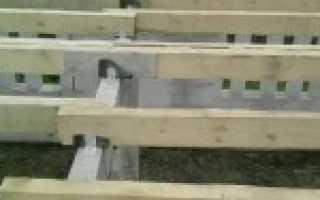 Выполнение расчета прогиба деревянной балки