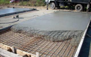 Пропорции при расчете бетона для фундамента