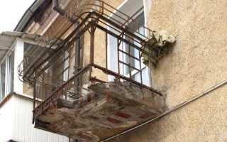 Сколько килограмм выдерживает балкон