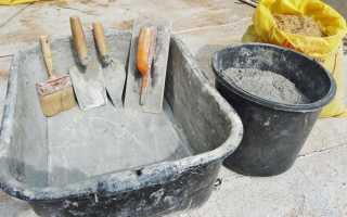 Как самостоятельно сделать цемент