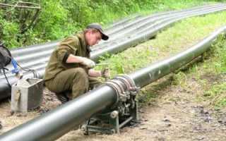 Способы соединения труб из ПНД