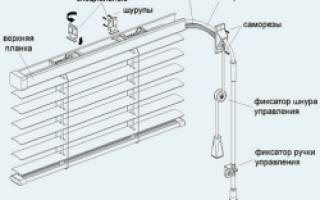 Как производится установка жалюзи своими руками?