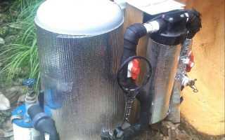 Как тщательно утеплить трубу от скважины?