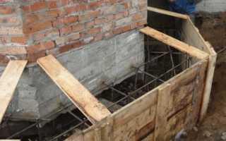 Способы укрепления фундамента кирпичного дома