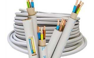 Как выбрать сечение кабеля?