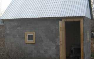 Технология строительства бани из керамзитобетонных блоков