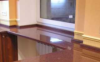 Как оформить подоконник на кухне