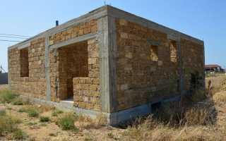 Ракушняк для стройки фундамента и стен