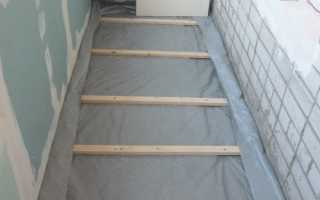 Руководство по гидроизоляции балкона