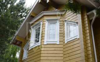Форма наличников на окна в деревянном доме