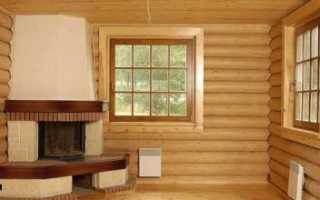 Как сделать откосы в деревянном доме