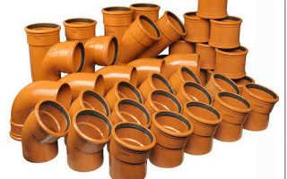 Канализационные трубы разновидности монтаж