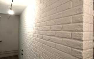 Как сделать стену из кирпича своими руками
