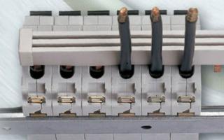 Автоматические выключатели разных типов