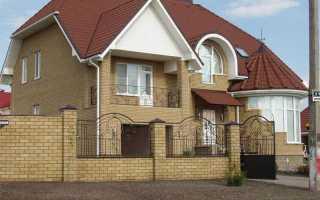 Фундамент для облицовки строящегося дома кирпичом