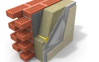 Технология утепления кирпичной стены
