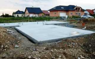 Как самостоятельно сделать фундаментную плиту на участке?