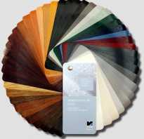 Цветные подоконники для пластиковых окон