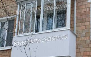 Сколько стоит отделка балкона внутри
