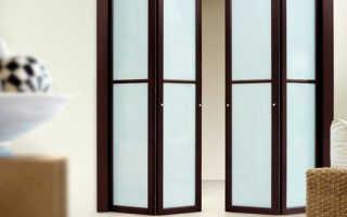 Какие бывают двери гармошка
