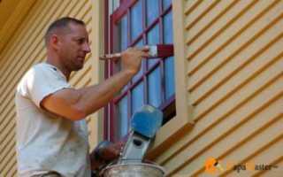 Какой краской красить деревянные окна