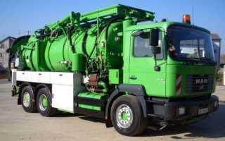 Прочистка канализации специальными машинами