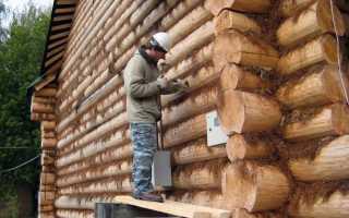 Способы утепления бревенчатого дома снаружи