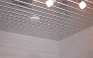 Алюминиевые потолки – особенности конструкция и разметка