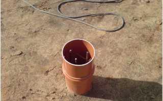 Пластиковые трубы для надежного фундамента