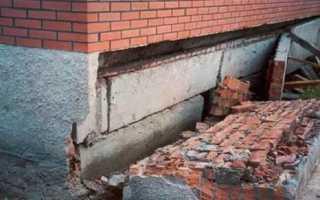 Как эффективно произвести укрепление фундамента кирпичного дома?